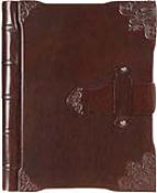 Leather latch journal