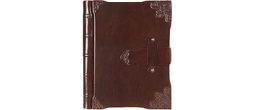 GIE405B - Leather latch journal